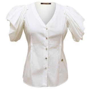 Roberto Cavalli White Shirt