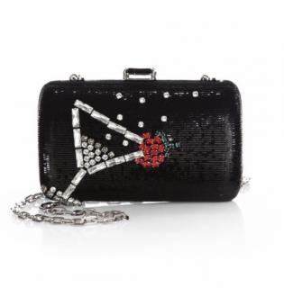 Prada Sequin Cocktail Clutch