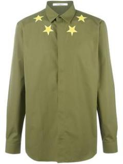 Givenchy khaki star shirt