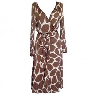 Moschino cheapandchic midlength wrap dress