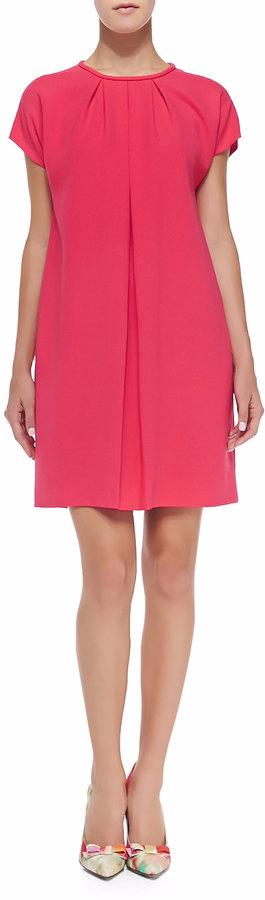 KATE SPADE Hot pink Crepe Dress