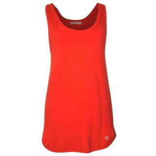 Matthew Williamson cashmere/merino tunic vest, size 8