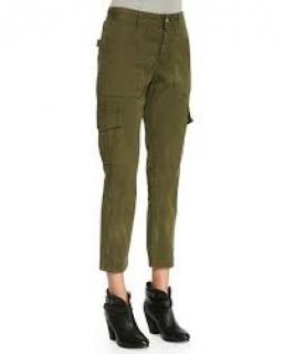 Zadig and Voltaire Eliot militaire trousers