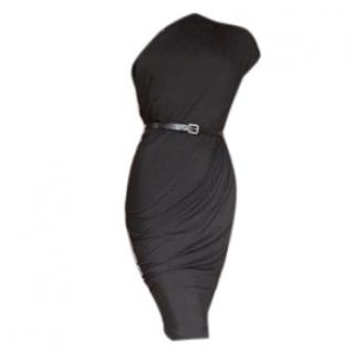 Donna Karen One Shoulder Dress