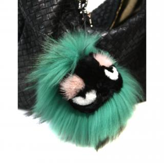 Fendi Mink Minty Bug Bag Charm - sold out rrp gbp725