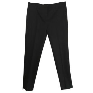 Miu Miu  black trousers