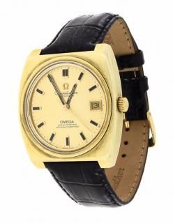 Vintage OMEGA WRIST WATCH Constellation Automatic Gold from the 60�s M
