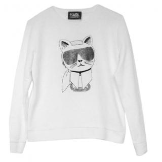 Karl Lagerfeld Cool Cat Sweatshirt