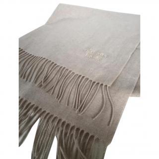 Moschino Boutique Beige Wool Scarf