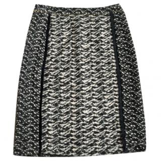 Bottega Veneta tweed skirt