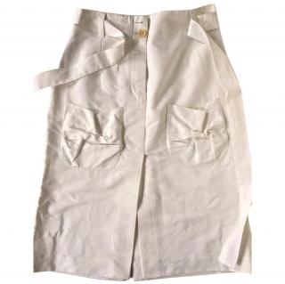 Sonia Rykiel White Skirt