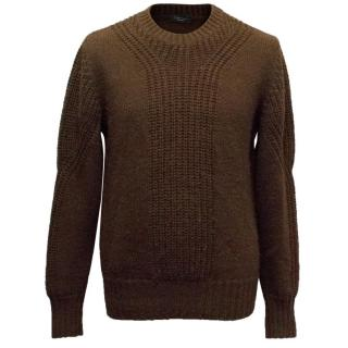 Joseph Homme Brown Knitted Sweater