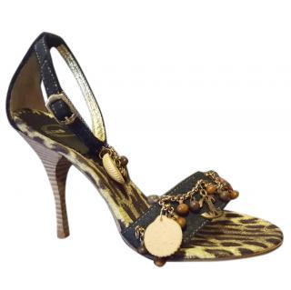 Just Cavalli Charms Sandals