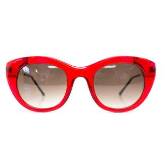 Thierry Lasry Poetry Red Framed Sunglasses