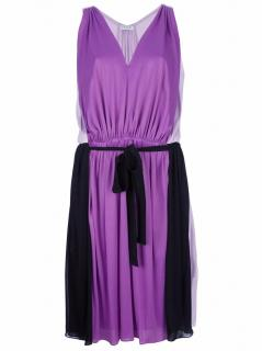 Vionnet silk dress