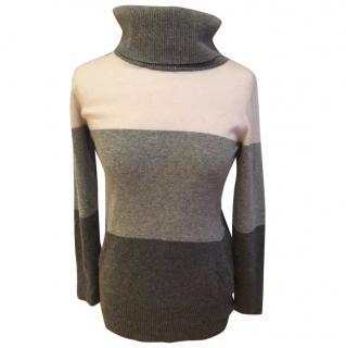 Max Mara roll neck jumper 100% virgin wool