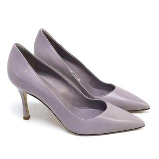 Manolo Blahnik Lavender Pumps