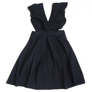 Tara Jamon Wool Pinafore Dress