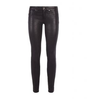 Rag & Bone, Hyde Leather Skinny Jeans
