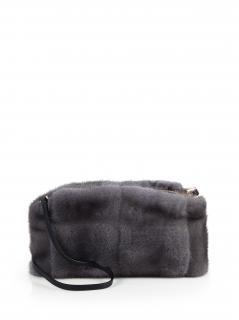 Burberry Mink Clutch & Cross Body Bag