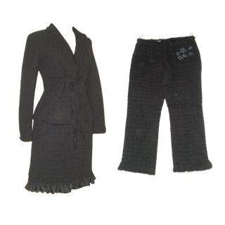Moschino black suit