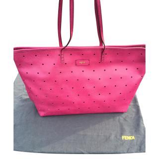 Fendi Pink Shopper