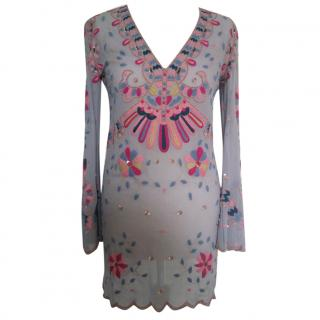 Temperley Embroidered Top