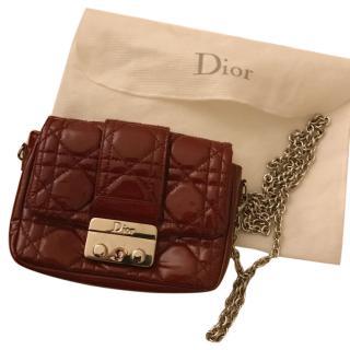 Dior lock mini bag