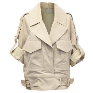 Jason Wu Beige Safari Jacket