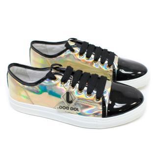 Jog Dog Silver Metallic Sneakers