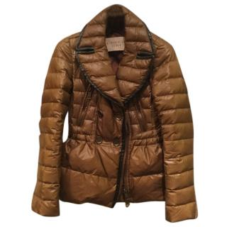 Burberry Brit Brown Puffer Jacket