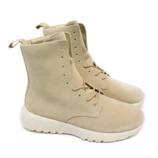 CU4TRO 'Ninja' Sand Suede Boot Sneakers