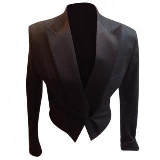 Acne Black Tuxedo Jacket