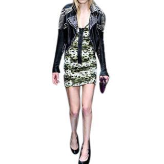 Burberry Prorsum Silk Leopard Dress