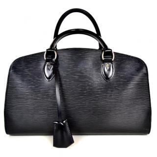 Louis Vuitton Black Tote Bag