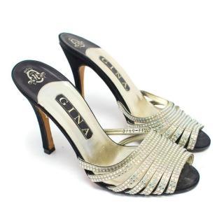 Gina Strappy Embellished Sandals