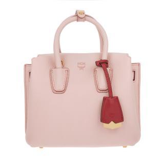 MCM Milla mini tote bag in pink