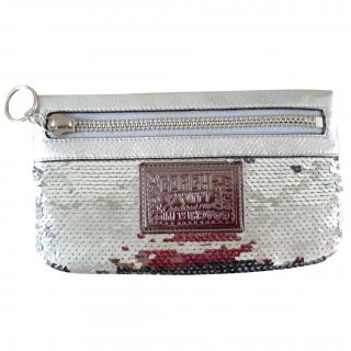 Coach clutch bag paillette limited edition