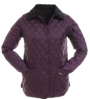 Barbour purple Quilted Jacket