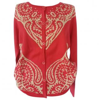 Max Mara Silk and Cotton Knit Cardigan