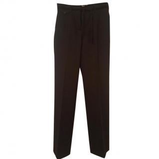 Prada pin striped trousers