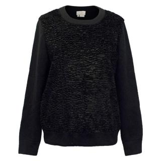 Kate Spade Black Textured Sweater
