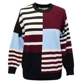 J Brand Multicoloured Print Jumper