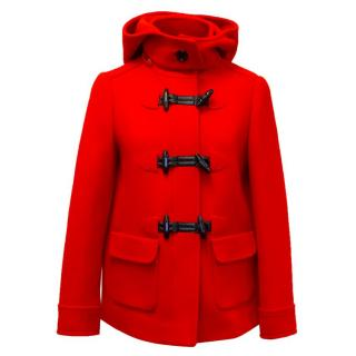 Kate Spade Red Hooded Jacket