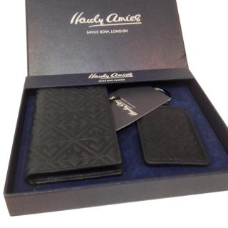 Hardy Aimes Savile Row Credit Debit Card Case and key fob