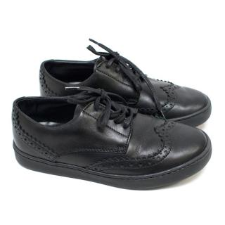 Dolce & Gabbana Boys Black Oxfords