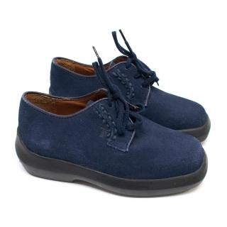 Tod's Boys Blue Lace-up Shoes