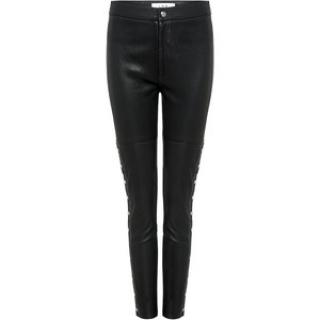 Zoe Karssen Leather Skinny Trousers