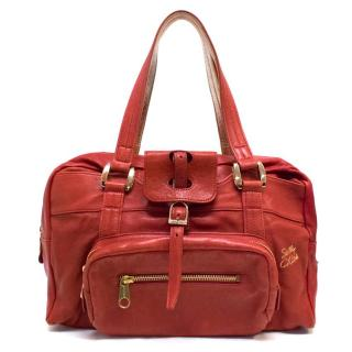 See by Chloe Red Leather Bag