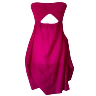 Sonia Rykiel Fuschia Strapless Dress